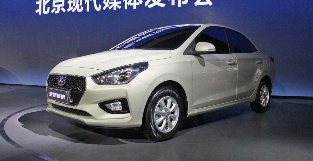 Hyundai представила новый бюджетный седан